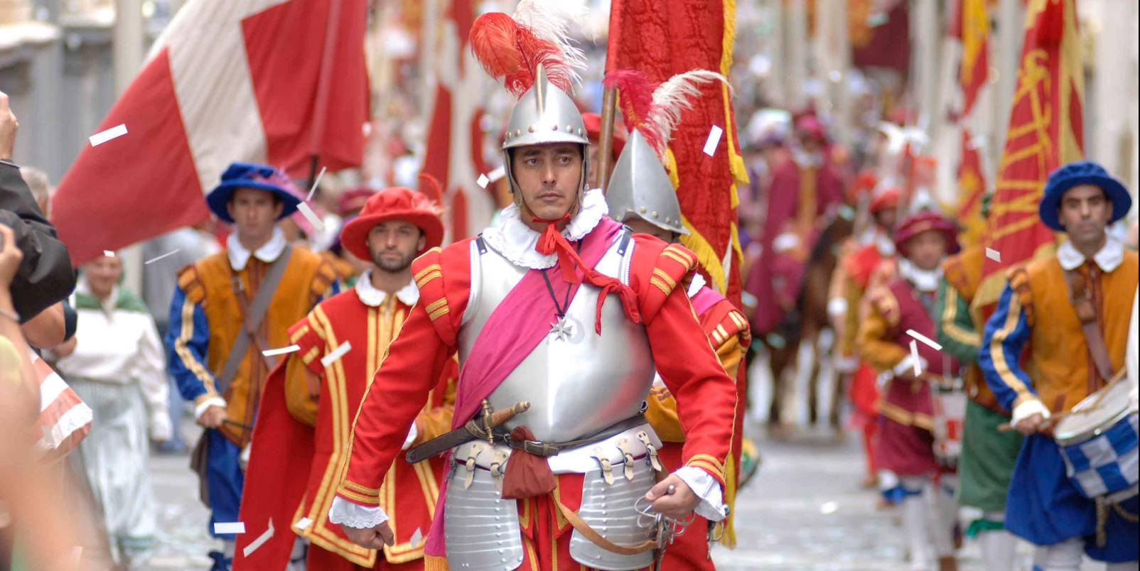 Parade In Guardia, La Valette