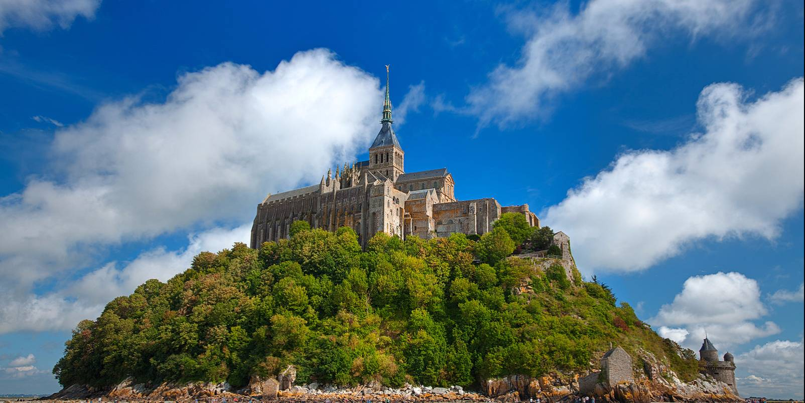 Mont Saint-Michel Castle - HDR